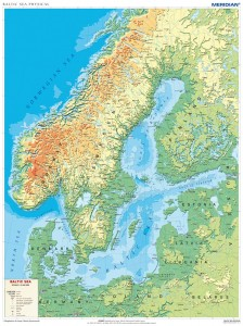 Baltic Sea physical